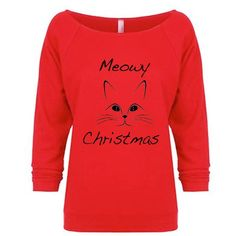 Ugly Christmas Sweater Christmas Sweatshirt Christmas Gift Christmas... ($22) ❤ liked on Polyvore featuring tops, hoodies, sweatshirts, brown, women's clothing, red shirt, bridal party shirts, sweat shirts, long sleeve tops and long sleeve sweatshirt