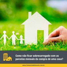 O consórcio é uma forma de poupar em grupo com objetivos bem definidos, seja para a compra da casa própria, terreno ou apartamento. Confira: https://www.consorciodeimoveis.com.br/noticias/como-nao-ficar-sobrecarregado-com-as-parcelas-mensais
