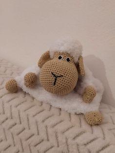 Návod na háčkovanú ovečku na pyžamko ~ Tvorím s láskou - by Peťka Holi, Crochet Patterns, Teddy Bear, Baby, Handmade, Animals, Decor, Amigurumi, Tricot