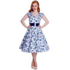 Robe Pin-Up Rockabilly 50's Rétro Constance