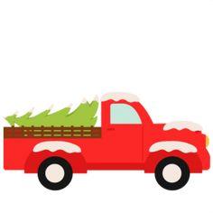 Christmas Truck SVG