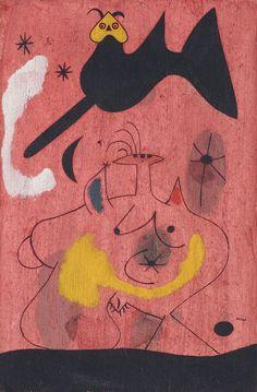 Joan Miró. L'Oiseau-nocturne (The Night-bird). 1939.