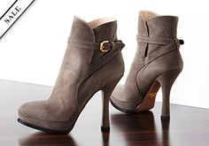 Up to 85% Off: Pumps, Boots & More -   While designer shoes may typically adorn the feet of celebrities, they will look just at home as the finishing touch to your favorite outfit. Treat yourself to a pair from this collection featuring some of our favorite labels. A peep-toe pump to make an impression on date night. A comfy flat...  #Boot, #Bootie, #ContrastStitching, #Jean, #Laceup, #Platinum, #Pullon, #Pump, #RubberSole, #Sandal, #Sneaker, #Tie, #Wedge