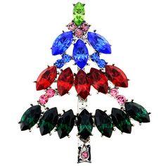 Christmas Tree Christmas Gift Pin Brooch 1003372 от pinxus на Etsy
