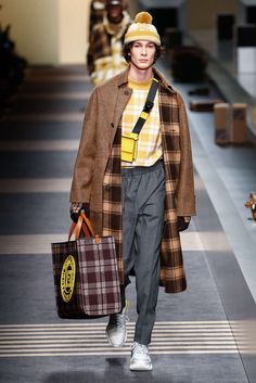Fendi, Herbst/Winter 2018, Mailand, Menswear