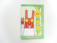 Wobby zine by Studio De Leijer.