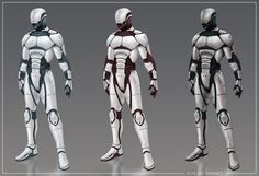 hard suit armor concept art - Google Search