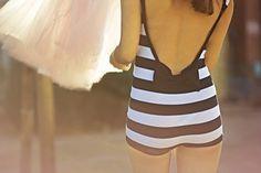 vintage-style bathing suit style