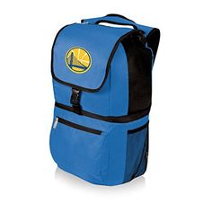 NBA Golden State Warriors Zuma Insulated Cooler Backpack, Blue by Picnic Time. NBA Golden State Warriors Zuma Insulated Cooler Backpack, Blue. Not Applicable.