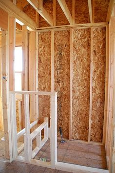 Walk in shower framing instructions ... whatever is on the other side of the wall from the shower seat needs to have cabinet doors or drawers put in to under the shower seat.  No wasted storage space.  Against walling over or covering up usable space.