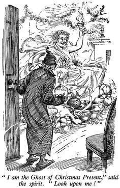 Charles Dickens' Christmas Carol - 1933 British children's annual -The Children's Wonder Book.