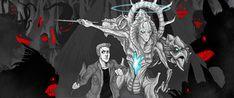 Dean and trueform! Cas in Purgatory by Little-Hofundur on deviantART