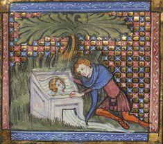 En avbildning av Narcissus, ca 1350