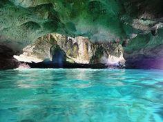 Thunderball Cave, Exuma, Bahamas                              …