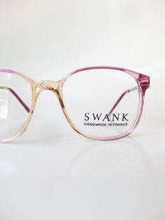 d9fb74afae 1960s French Purple Horn Rim Childrens Teens Glasses Eyeglasses Optical  Crames Girly Purple Pink Lavender France 60s Sixties Mod