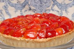 Sugar & Spice by Celeste: A Fresh Strawberry Tart from Julia Child!