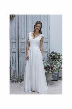 Robe de mariée Claire, Marie Laporte - EN IMAGES. Dix robes de mariée Marie Laporte 2014 - L'EXPRESS