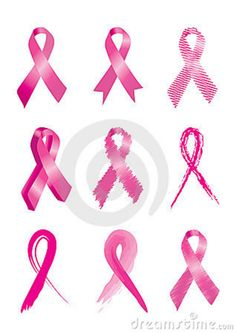 awareness ribbon tattoos - Google Search. In faded different colors to cover all that i know.