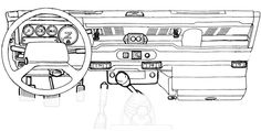 Defender Dashboard, Dash, Electrical Guages, Switches, Trim Parts - Rovers North - Classic Land Rover Parts