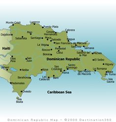 Map of dominican republic via lonely planet caribbean bermuda dominican republic map publicscrutiny Gallery
