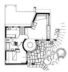 Resultado de imagen de La Caja en Lissma Hans Scharoun, Architect Drawing, Architecture Plan, House Plans, Floor Plans, How To Plan, Layouts, Villa, Architectural Drawings