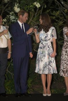 Kate Middleton Turns 31 – See Her Sweetest Moments With William: Prince William and Kate Middleton planted a tree together during their Canada trip in July 2011. : Kate and William were the guests of honor at the Windsor Irish Guards Medal Parade in June 2011. : The couple toasted during their September 2012 tour of South East Asia.
