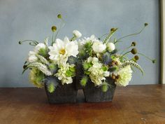 candle in potted plant - Google Search