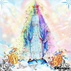 blingee graphics holy thursday | holy mary mother of jesus Picture #100714600 | Blingee.com