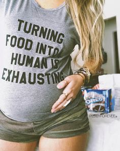In fact, getting pregnant requires more efforts than what have been mentioned here. You need some inside tips to get pregnant Funny Pregnancy Shirts, Pregnancy Announcement Shirt, Birth Announcement Girl, Pregnancy Humor, Pregnancy Outfits, Baby Shirts, Pregnancy Tips, Pregnancy Photos, Pregnancy Clothes