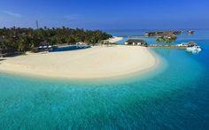 Maldives resort wallpaper