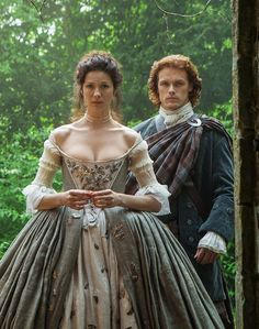 Not exactly the silver screen but Caitriona Balfe and Sam Heughan, Outlander on Starz are perfect on any screen.2014                                                                                                                                                     More