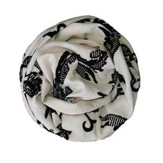Spikes Scarf, $85, now featured on Fab.