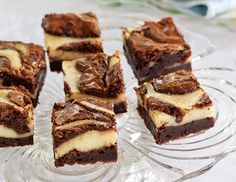 Cream Cheese-Swirled Walnut Brownies - I would save time by making a fudge brownie batter from a box, adding in the walnuts, then follow the recipe for the cream cheese layer.