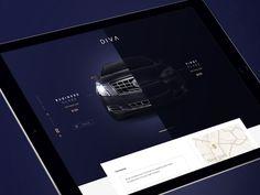 """다음 @Behance 프로젝트 확인: """"Diva Limousine""""…"""