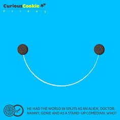 From the cookie that makes your insides smile #CuriousCookie #Friday #BigWig