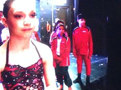 Maddie face before her dance with Gino