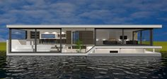 Nieuwbouw ontwerp woonboot   houseboat architect Amsterdam