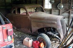 Period Hot Rod: 1936 Plymouth Coupe - http://barnfinds.com/period-hot-rod-1936-plymouth-coupe/