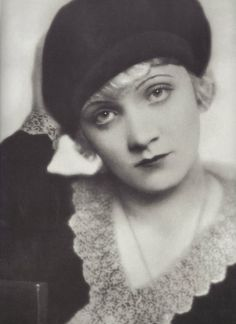 A very young Marlene Dietrich. This photo was probably taken in Germany probably duirng the 1920's before Marlene embarked on her international career.