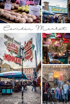 Camden Market, a brilliant way to spend an afternoon in London!