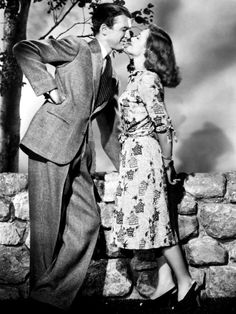 James Stewart and Donna Reed-- It's a Wonderful Life :)