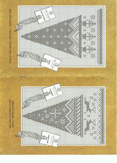 Points de croix *@* Noël cônes 2/3