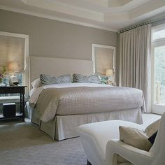 Get decorating and design ideas from some of our best master bedrooms. Sweet dreams are guaranteed when you have a beautiful place to rest your head. When you're ready for a redo, we've got you covered with master bedroom decorating ideas that are sure to help you create the tranquil retreat you've been longing for. Even the most minute change—from toning down your color palette with calming spa-like colors to adding ultra plush accents like a down duvet and throw pillows—can infuse s...