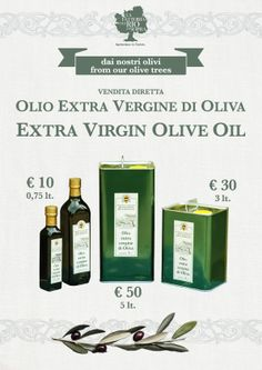 extra virgin olive oil from Umbria