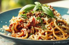 Spaghetti bolognese - Z serii kultowych dań :-) tym razem prosto z Bolonii! #spaghetti #bolognese #wloskiespecjaly #spaghettibolognese
