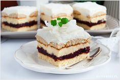 Ciasto Bajeczne - I Love Bake Food Cakes, Cake Recipes, Recipies, Cheesecake, Food And Drink, Sweets, Baking, Cook, Christmas