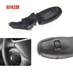Big discount US $16.51  car switch cruise control switch for peugeot 307 207 308 407 607 3008 for citroen xsara berlingo c3 c5 c8 6242Z8