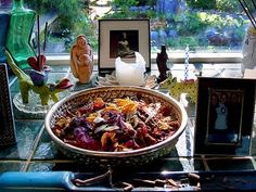 An Altar is a sacred space, its great to go out in nature and meditate or talk to your guides but its not always possible and you can get disturbed by . Pagan Altar, Meditation Space, Meditation Altar, Home Altar, Beltane, The Fresh, Altars, Create, Magick