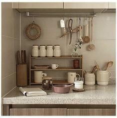 Interior Modern, Home Interior, Kitchen Interior, Kitchen Decor, Kitchen Design, Interior Design, Kitchen Living, Kitchen Ideas, Korean Apartment Interior
