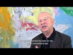 GEORG BASELITZ talks about Farewell Bill, at Gagosian Britannia Street, London - YouTube